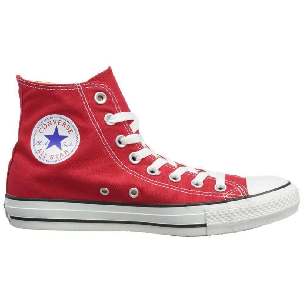 Converse M9621C-030 Men's Chuck Taylor All Star Hi Shoes, Red, 3 D(M) US