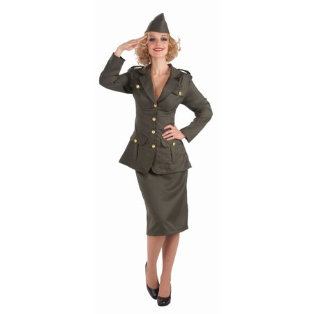 Army Gal Adult Costume - Nasty Gal Halloween