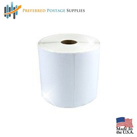 Preferred Postage Supplies Supplies Ups Shipping Labels 4X6 Top Coated Direct Thermal Rolls 475 Labels Per Roll  12 Rolls Per Box  Compare To Eltron 800264 605 Ups Labels