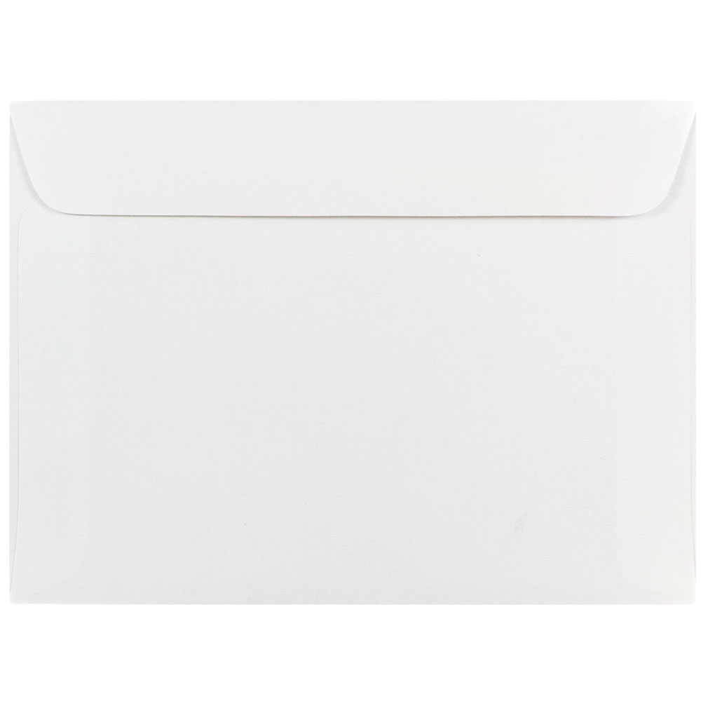 JAM Paper 5 1 2 x 7 1 2 Booklet Envelopes, White, 50 pack by JAM Paper & Envelope