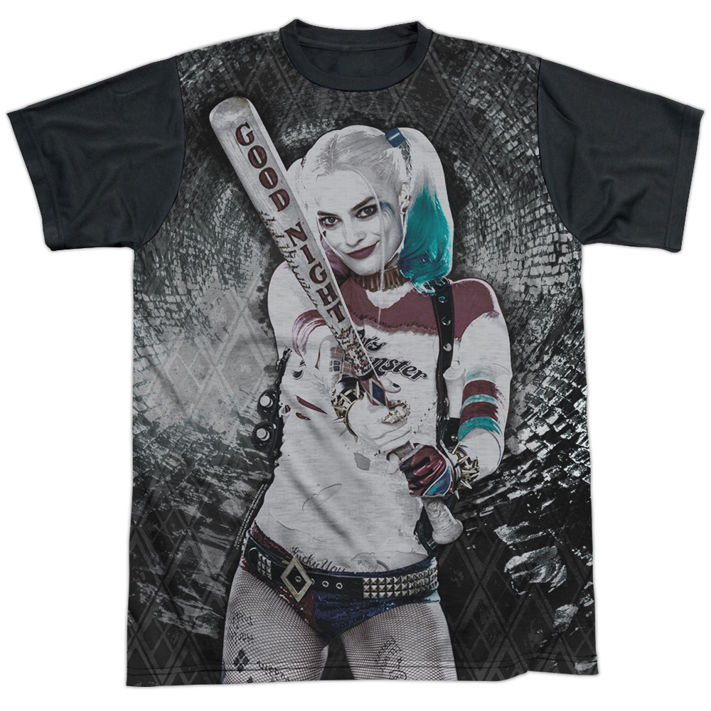 Suicide Squad Tunnel Vision Mens Sublimation Shirt