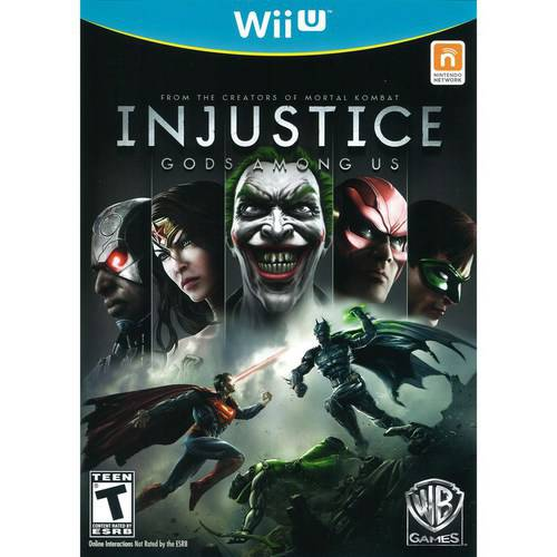 Cokem International Preown Wiiu Injustice:gods Among Us
