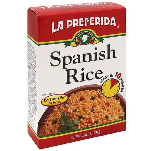 La Preferida Spanish Rice, 5.25 oz (Pack of 9)