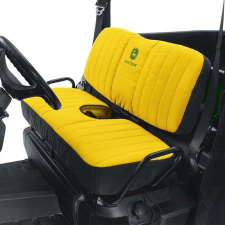 John Deere Seat Covers - John Deere Mid Size Bench Seat Cover - Yellow