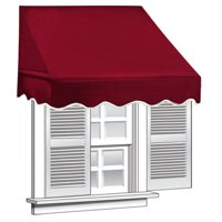 ALEKO 6' x 2' Window Awning Door Canopy (12 sq. ft Coverage)