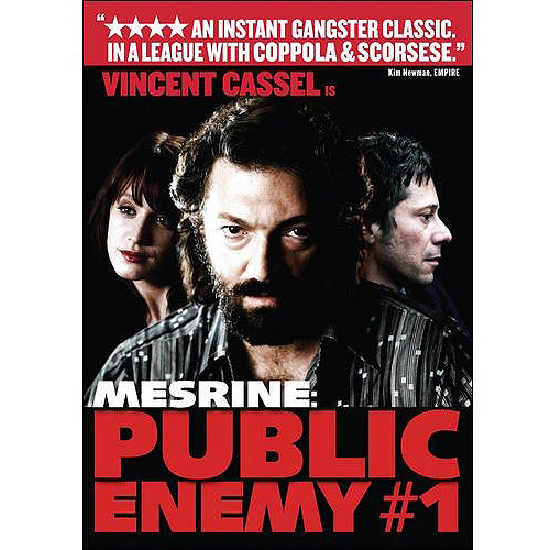 Mesrine: Public Enemy #1, Part 2 (Blu-ray)