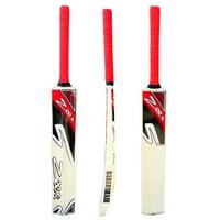 Cricket Bat Net Practice Tennis Ball Tape Ball Handcrafted Kashmir Willow RED