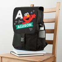Personalized Sesame Street Elmo Hearts Backpack