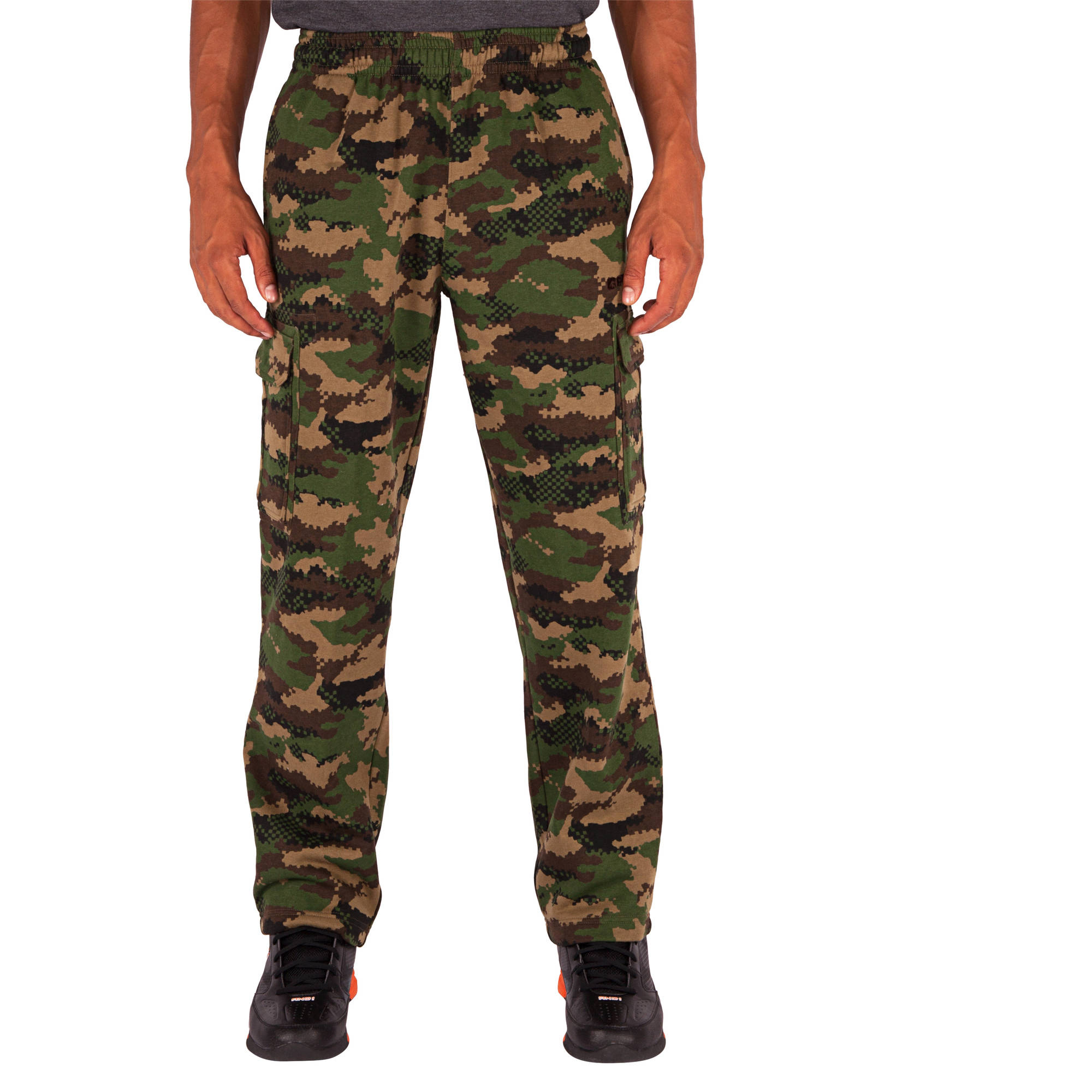 And1 Men's Double Team Fleece Cargo Pant