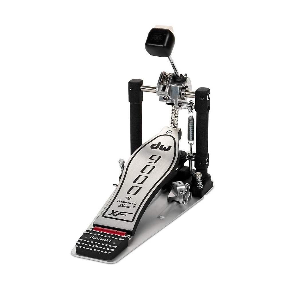 DW 9000 Series Single Bass Drum Pedal with eXtended Footboard by DW