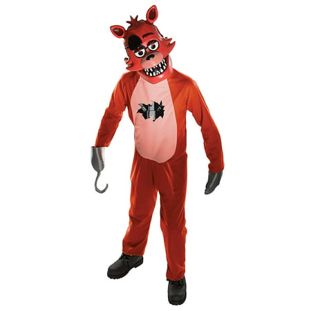 Halloween Review (Costume Kids Five Nights at Freddy's Foxy Costume, Medium, NOTE: Costume sizes are different from clothing sizes; review the Rubie's size chart when selecting a size and.., By)
