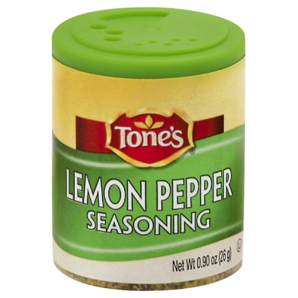 Tones Seasoning, Lemon Pepper