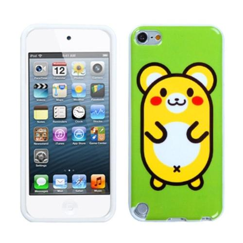 Insten Cute Hamster Candy Skin Case for APPLE: iPod touch (5th 6th Gen 5 6)
