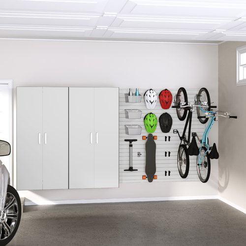 Flow Wall Premium Storage Workstation 9 Piece Storage Cabinet Set