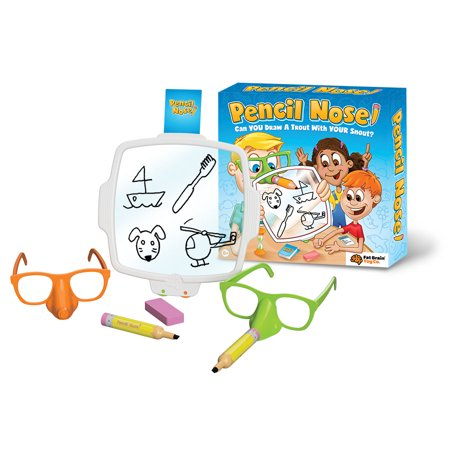 Fat Brain Toys Pencil Nose Game (Angry Brain Halloween Game Online)