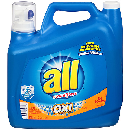 All Oxi-Active Stainlifters HE Liquid Laundry Detergent, 150 oz
