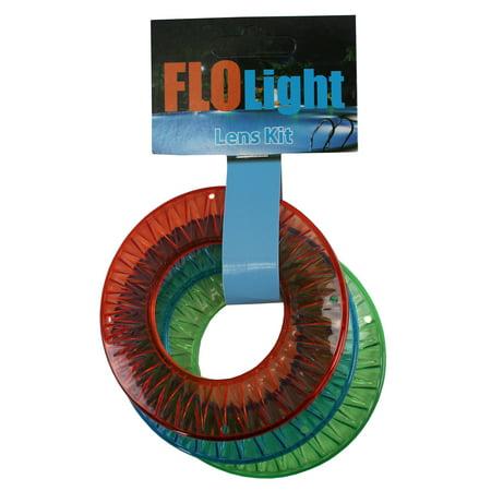 Colored Lens Kit FLOlight Jetlight Swimming Pool Wireless Return Light 3 Pack (Pool Lights Walmart)
