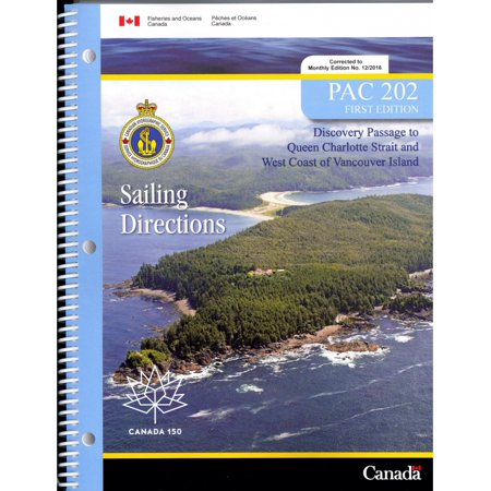 PAC202: Discovery Passage to Queen Charlotte Strait and West Coast of Vancouver Island, 1st Edition 2017 - Vancouver 2017 Halloween