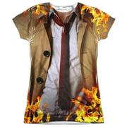 Constantine Outfit (Front Back Print) Juniors Sublimation Shirt