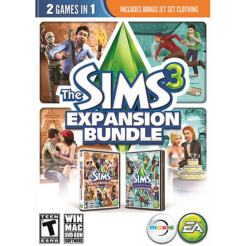 Sims 3 Expansion Bundle (PC)