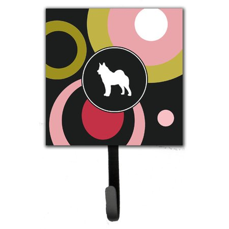 Caroline's Treasures Norwegian Elkhound Leash Holder and Wall Hook