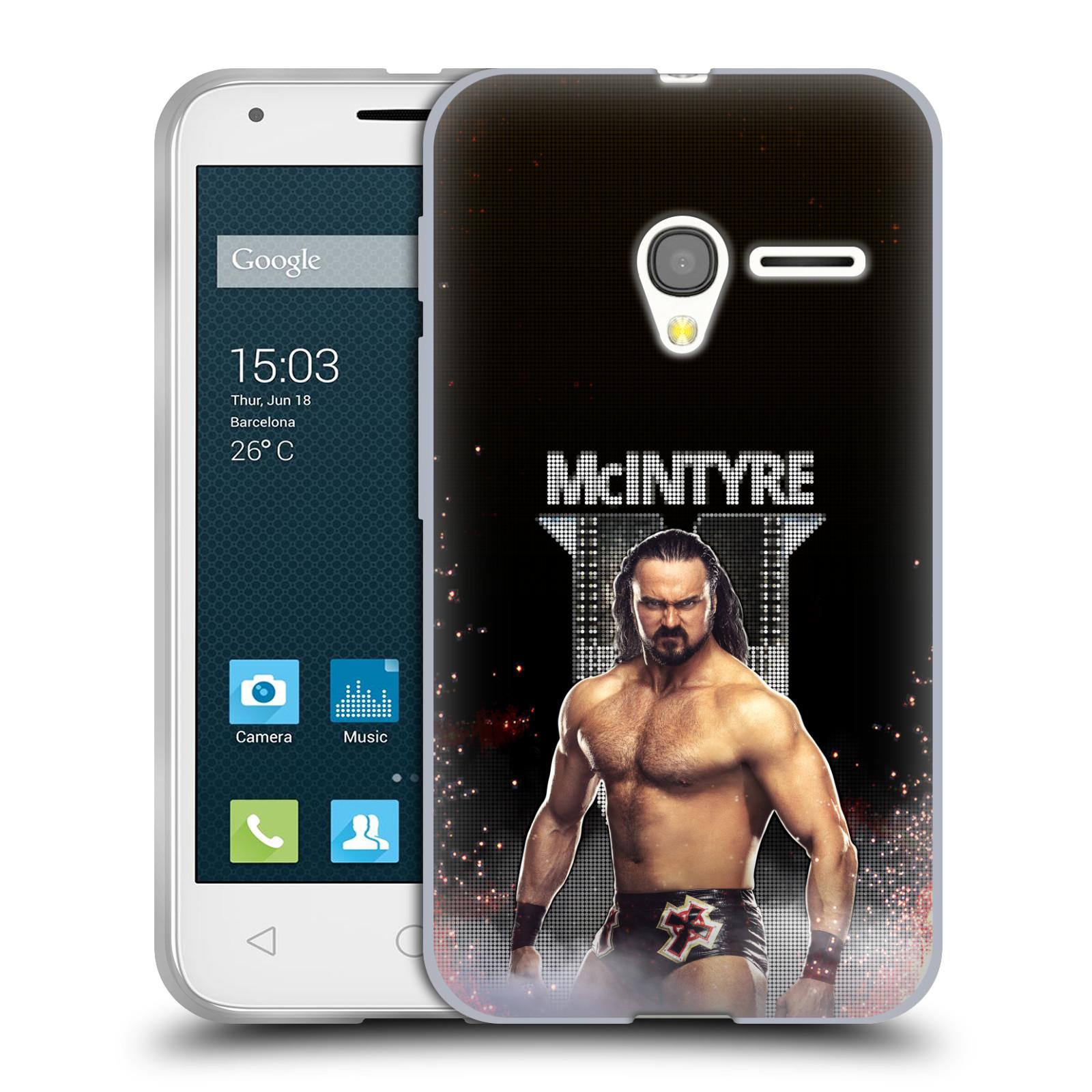 OFFICIAL WWE DREW MCINTYRE SOFT GEL CASE FOR ALCATEL PHONES