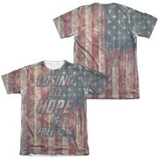Fight Club - Losing Hope (Front/Back Print) - Short Sleeve Shirt - Small