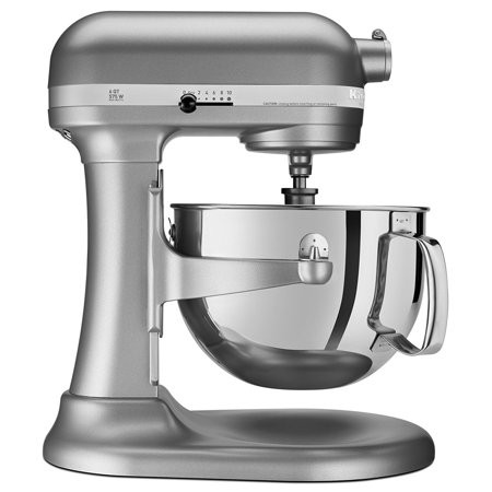 Professional Food Mixers - KitchenAid RKP26M1XSL Professional 600 Series Bowl-Lift Stand Mixer, 6 Quart, Silver (CERTIFIED REFURBISHED)