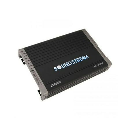 Soundstream Arachnid Series 2500 Watt Class D Monoblock Car Audio
