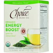Choice Organic Teas Organic Energy Boost Tea, 16 Count