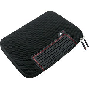 Solo TCB108-4 Airmesh Neoprene Netbook Sleeve (Black)