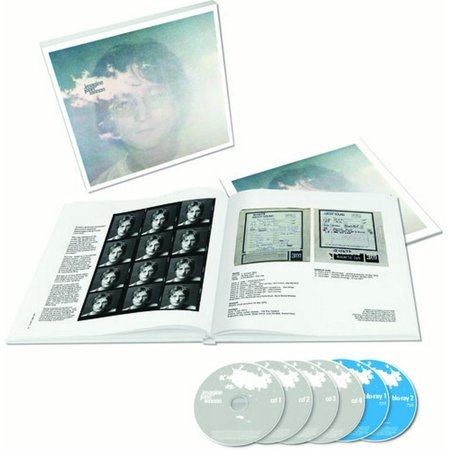 Imagine: The Ultimate Collection (CD) (Includes Blu-ray) (Ray Ban John Lennon)