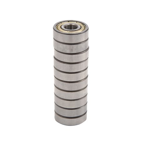 10pcs Double Shielded Miniature Bearing Deep Groove Ball 30mm x 10mm x 9mm (Motorcycle Bearing)