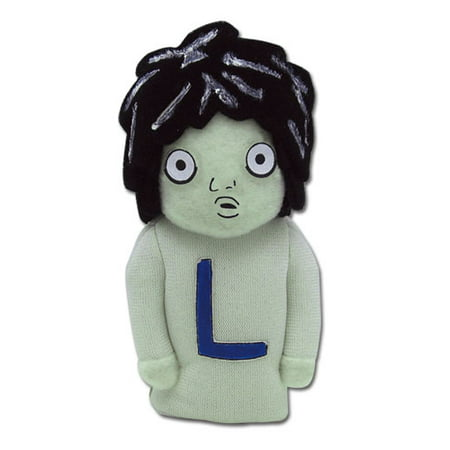 "Finger Puppet - Death Note - L Plush 4"" Toys Gifts Anime Licensed ge7079"