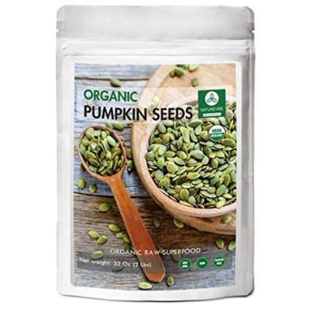 Whole Foods Pumpkin Seeds - Naturevibe Botanicals Organic Pumpkin Seeds 2 Lb