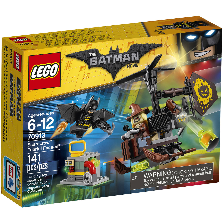 Lego Batman Movie Scarecrow Fearful Face-off 70913 by LEGO Systems Inc