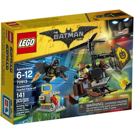Lego Batman Movie Scarecrow Fearful Face Off 70913