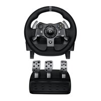 Refurbished Logitech G920 Driving Force Racing Wheel Dual Motor Force - Xbox and PC Renewed
