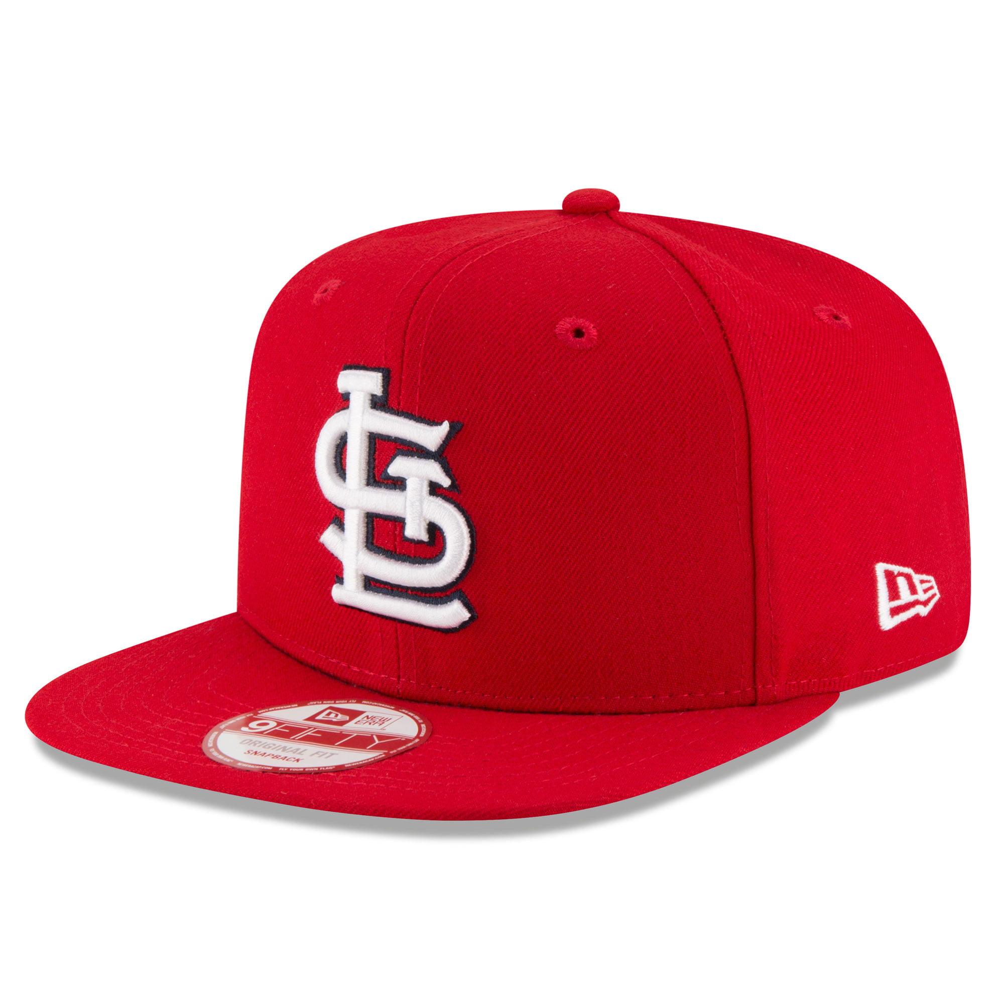 size 40 d4e57 b4562 St. Louis Cardinals New Era Flag Side Original Fit 9FIFTY Snapback  Adjustable Hat - Red - OSFA - Walmart.com