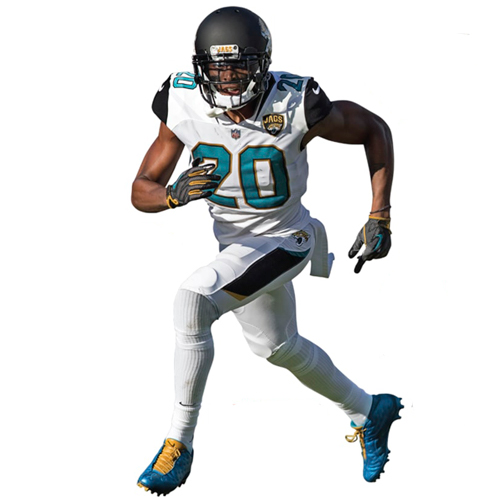 Jalen Ramsey Jacksonville Jaguars Fathead Life Size Removable Wall Decal - No Size