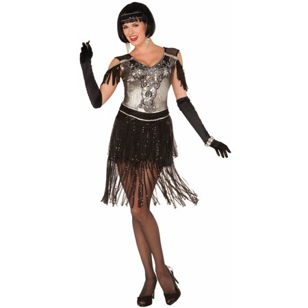 Enchanting 1920's Vintage Fringed Flapper Gatsby Costume Dress-STD - Dresses From Great Gatsby