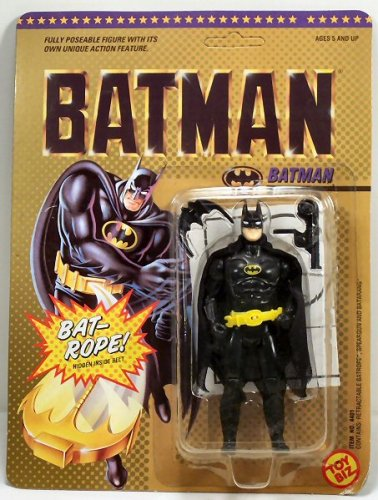 Vintage 1989 Michael Keaton Movie Action Figure, Part of the first Batman Michael Keaton Movie 5 inches tall... by
