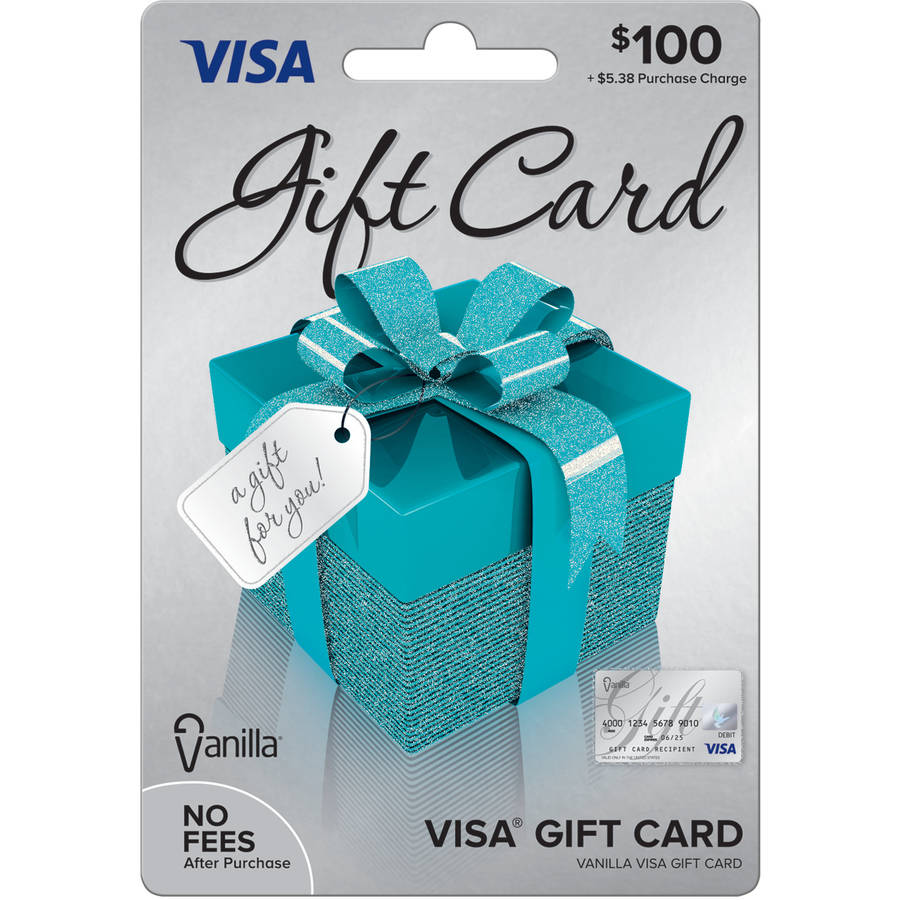 Visa 100 Gift Card Walmart Com