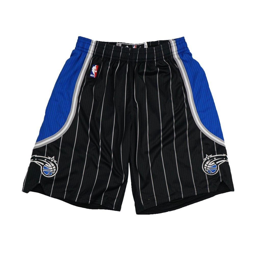 Orlando Magic NBA Adidas Black Authentic On-Court Alternate Road Climalite Game Shorts For Men