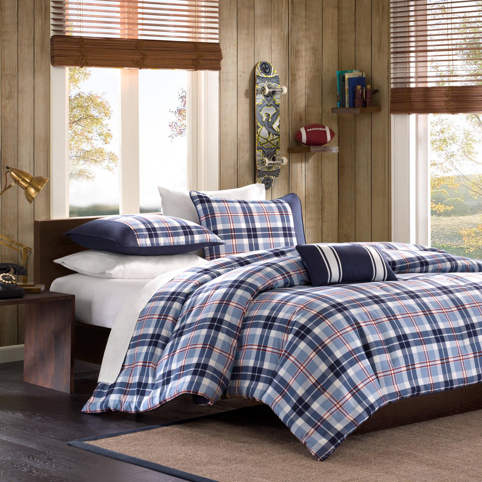 Home Essence Apartment Alton Mini Comforter Set, Blue