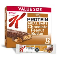 Kellogg's Special K Protein Meal Bars Chocolate Peanut Butter 19 Oz 12 Ct
