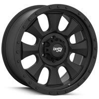 "Dirty Life 9300 Ironman 18x9 8x170 +0mm Matte Black Wheel Rim 18"" Inch"