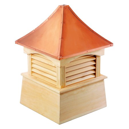 Good Directions Coventry Wood Cupola with Copper Roof - 72