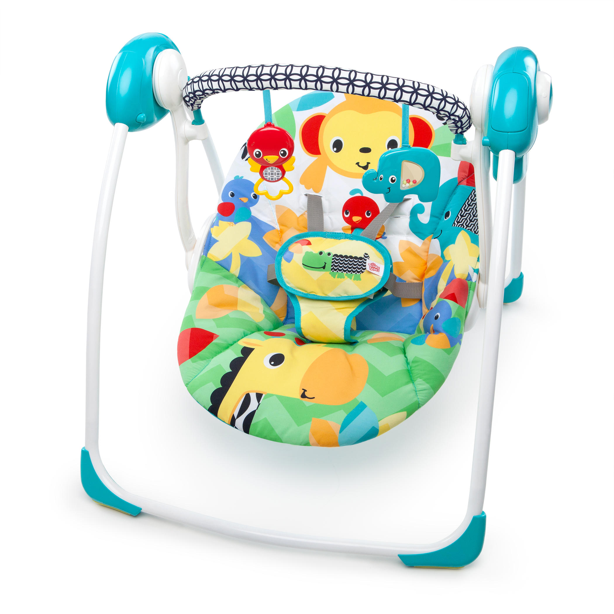Bright Starts Portable Swing   Safari Smiles