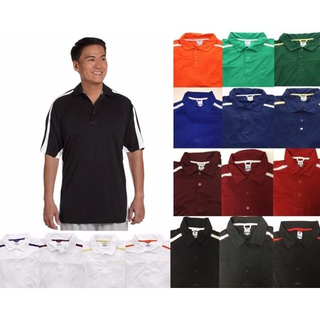 Russell Athletic Men's Big Tall Dri Power Game Day Polo Shirt Mens Game Day Polo